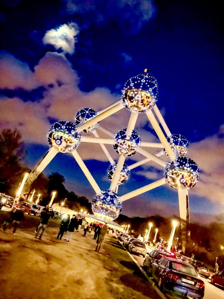 Atomium at Night