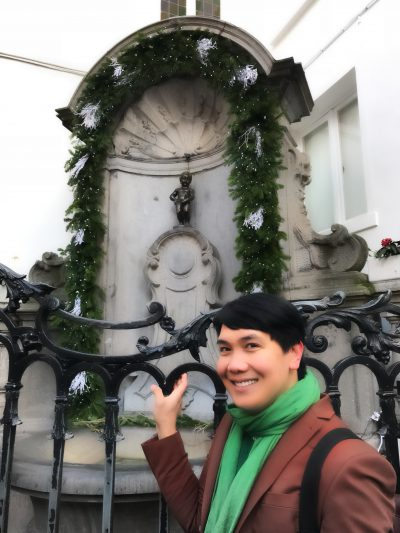 Me and The Mannekin Pis