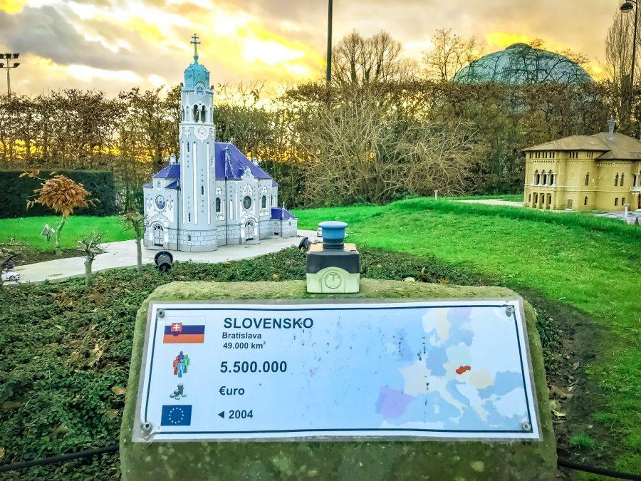 The Blue Church in Bratislava, Slovakia