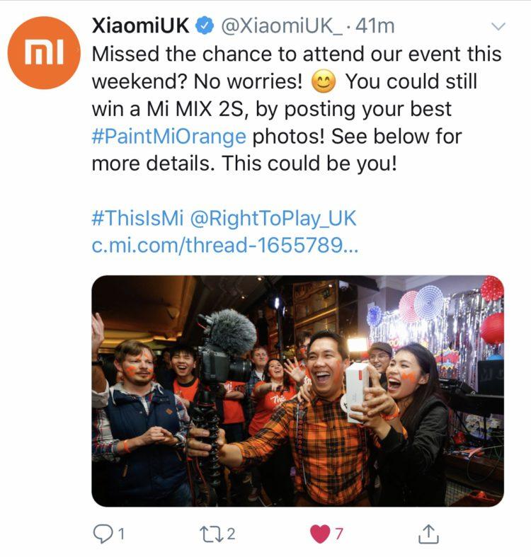 Xiaomi UK