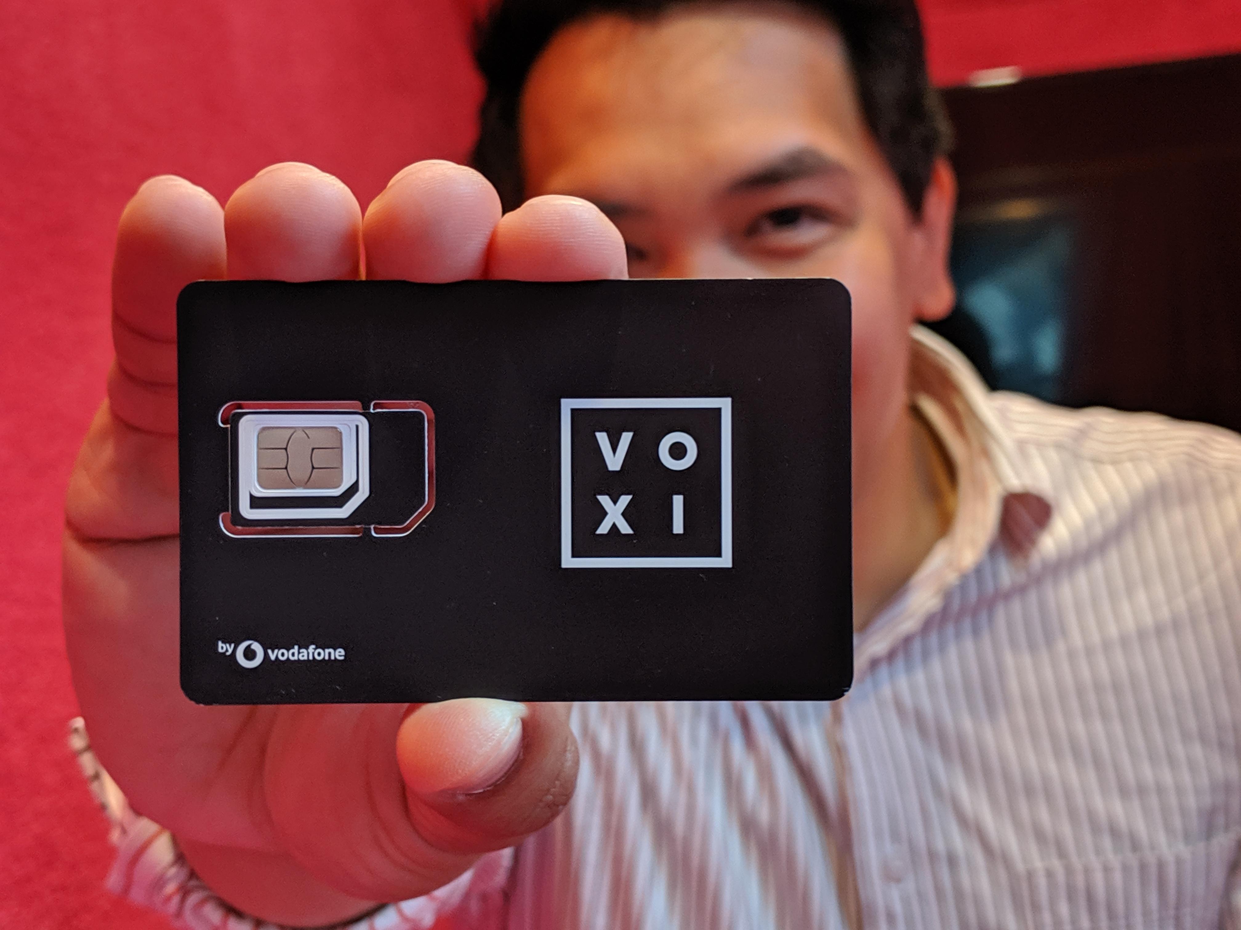 Voxi Sim Card