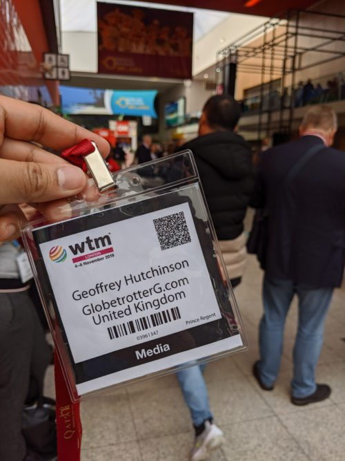 World Travel Market 2019 Media Badge
